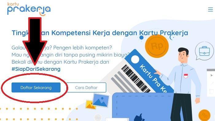 Login Www Prakerja Go Id Daftar Kartu Prakerja Online Uang Rp 3 55 Juta Bisa Langsung Dibelanjakan Tribun Timur