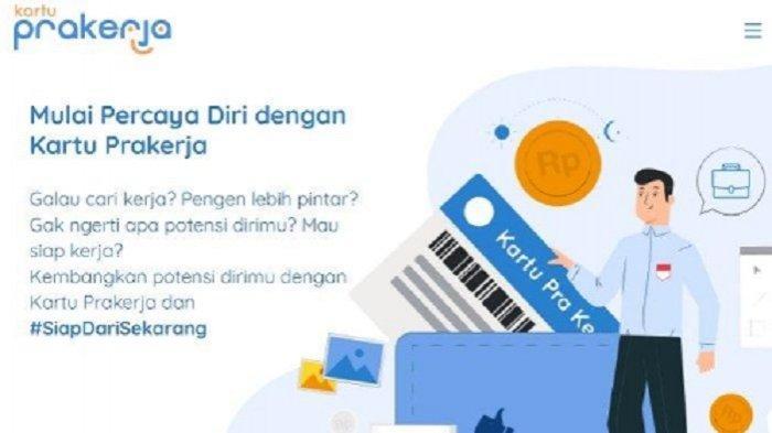 AKHIRNYA Kartu Prakerja Gelombang 4 Dibuka pada 26 Mei 2020, Ini Cara Daftar di www.prakerja.go.id