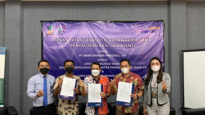 Loka Residen Napza Pangurangi Takalar MoU dengan Bank Mandiri