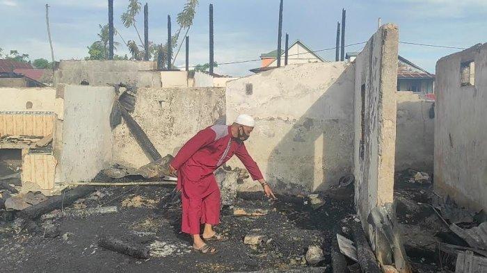 Korban Kebakaran di Lamuru Bone Terjebak di Dekat Kamar Mandi