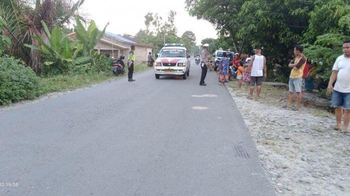 BREAKING NEWS: Truk vs Motor di Desa Laba Luwu Utara, 1 Orang Tewas