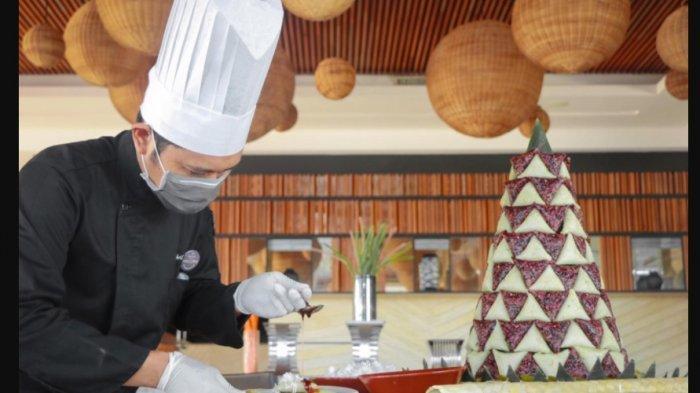 MIlad ke 5 Tahun Hotel The Rinra Diisi dengan Bagi-bagi Sembako di Panti Asuhan