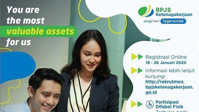 Lowongan Kerja BUMN BPJS Ketenagakerjaan Besar-besaran, Lulusan D3 S1, Daftar Online, Cek Syarat!