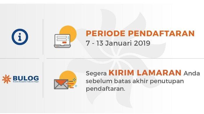 Lowongan Kerja BUMN Bulog, Lulusan SMK D3 & S1, Tutup 13 Januari, Buruan Daftar Online di Link Ini