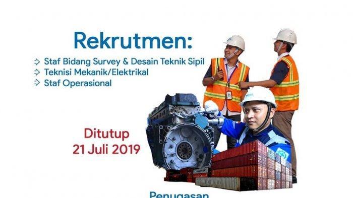 Lowongan Kerja BUMN-PT Pelindo 3 Group Cari Pegawai Baru, Lulusan SMK Teknik, Daftar Online di Sini!
