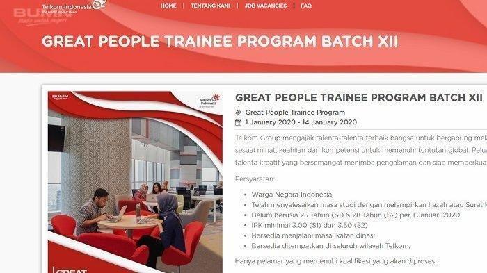 Lowongan Kerja BUMN Telkom Group di Seluruh Indonesia ...
