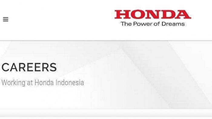Lowongan Kerja PT Honda Prospect Motor (Honda Mobil) Banyak Posisi, Daftar di Web Resmi, Cek Syarat!