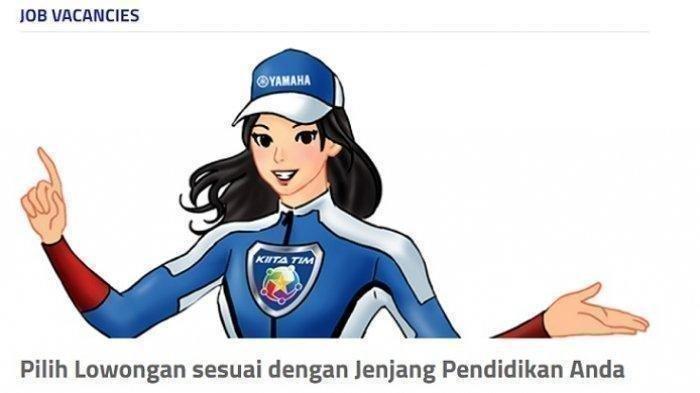 Lowongan Kerja SMA SMK D3 S1 - PT Yamaha Indonesia Cari Banyak Karyawan Baru, Daftar Online di Sini