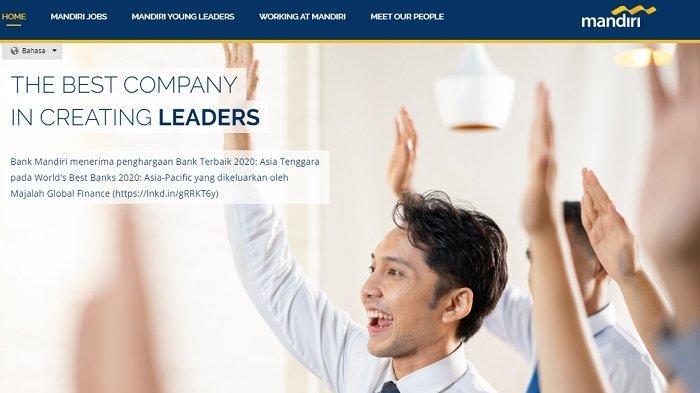 Lowongan Kerja Terbaru BUMN Bank Mandiri Cari Karyawan Banyak Posisi, Terima Mulai Tamatan SMA,