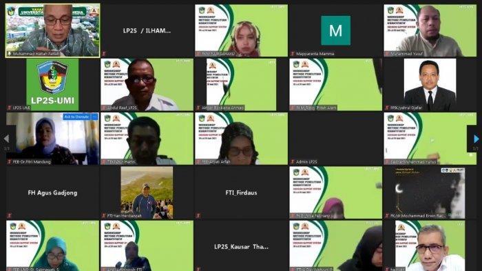 67 Dosen Ikut Workshop Penelitian Kuantitatif LP2S UMI