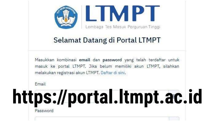 Login Web LTMPT portal.ltmpt.ac.id, Registrasi Pakai NPSN - NISN, Jadwal Pendaftaran SNMPTN - SBMPTN