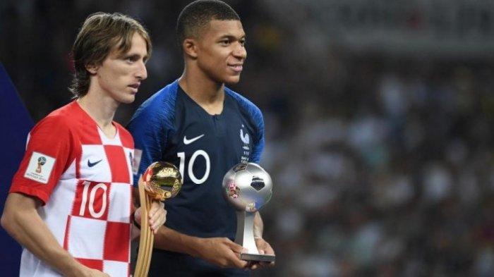 LENGKAP! Daftar Nama-nama Peraih Penghargaan di Piala Dunia 2018, Luka Modric Pemain Terbaik
