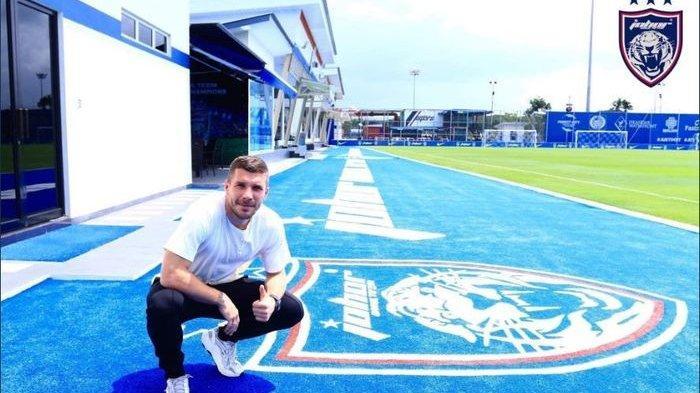 Mantan Pemain Timnas Jerman Lukas Podolski Merapat ke Klub Malaysia