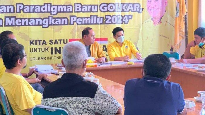 Berikut Jadwal Pendaftaran Calon Ketua Golkar Tana Toraja