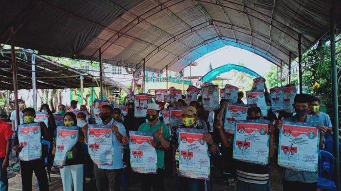 Meski Lawan Kotak Kosong, Calon Wakil Bupati Soppeng Gencar Lakukan Kampanye