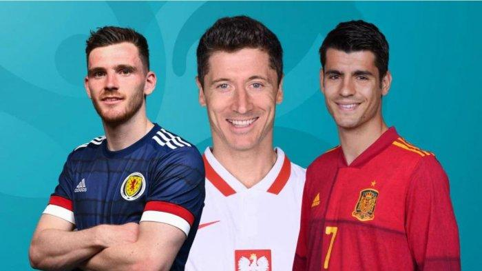 Pertandingan EURO Hari ini, Slovakia Khawatir dengan Lewandowski, Spanyol Tak Lagi Favorit Turnamen