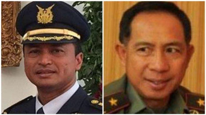 2 Jenderal Kawal Jokowi Eks Komandan Wing 5 Lanud Hasanuddin dan Rekan Kerja di Solo Jawa Tengah