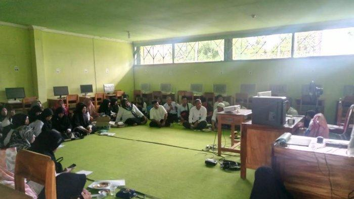 Ponpes Al Urwatul Wutsqaa Sidrap Gelar Bimtek Pengisian Rapor Online