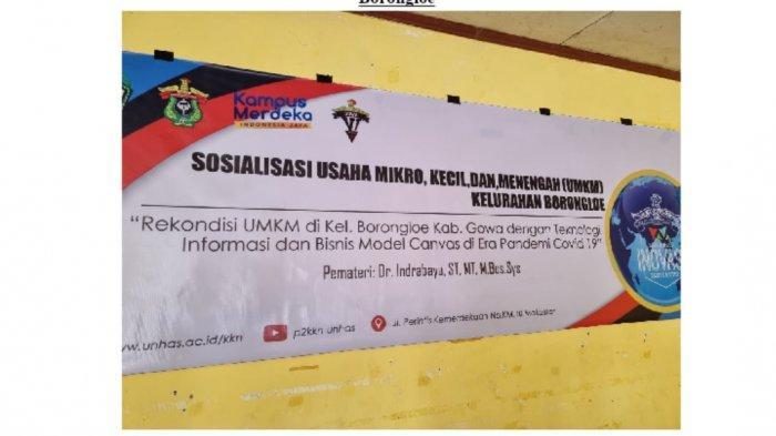 Mahasiswa KKN Unhas Gowa 6 Edukasi Pelaku UMKM Kembangkan Usaha