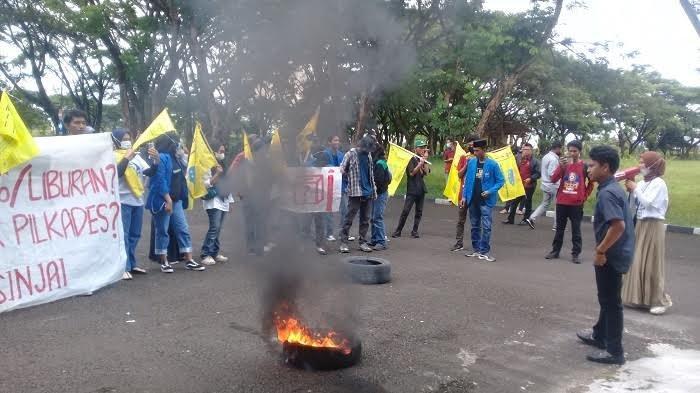 Aktivis PMII Sinjai Laporkan Kasus Pemukulan Saat Aksi Unjuk Rasa, Pelakunya Kepala Desa