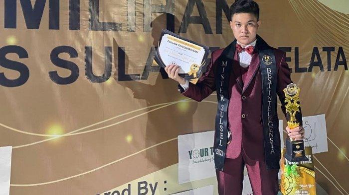 Profil Muhammad Nur Muslim, Mahasiswa Unibos Peringkat 4 Mister Intelegensia Sulsel 2021