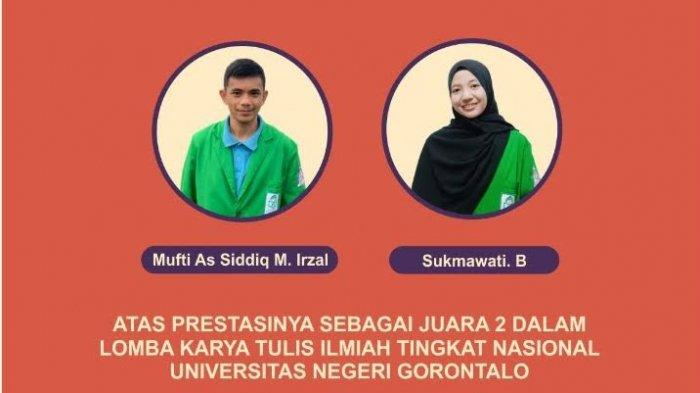 Mahasiswa Kesmas FKIK UIN Alauddin Juara 2 KTI Nasional di Gorontalo