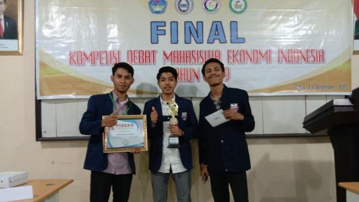 Mahasiswa Unibos Juara Debat Ekonomi Maritim Tingkat Nasional di Ambon