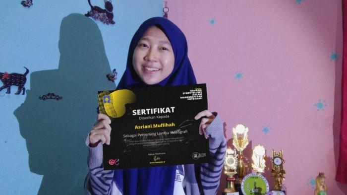 Kenalkan Asriani Muflihah, Mahasiswi UMI Makassar Pemenang Lomba Videografi di UII Yogyakarta