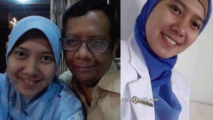 Kenal Vina Amalia Putri Mahfud MD? Saat Kuliah Kedokteran, Dosen Mengiranya Orang Tak Mampu