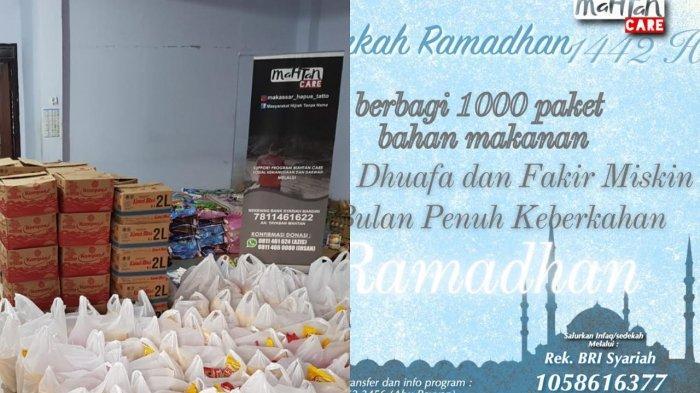 Cara Ikut Berbagi 1000 Paket Bahan Makanan Bersama Mahtan di Ramadhan 1422 Hijriah