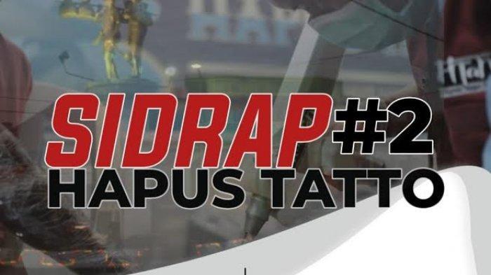 Mahtan Bakal Adakan Hapus Tato Gratis di Sidrap, Catat Tanggal dan Syaratnya