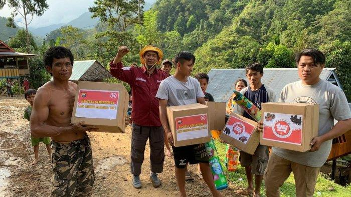 Mahtan Salurkan Bantuan untuk Korban Bencana Banjir Luwu