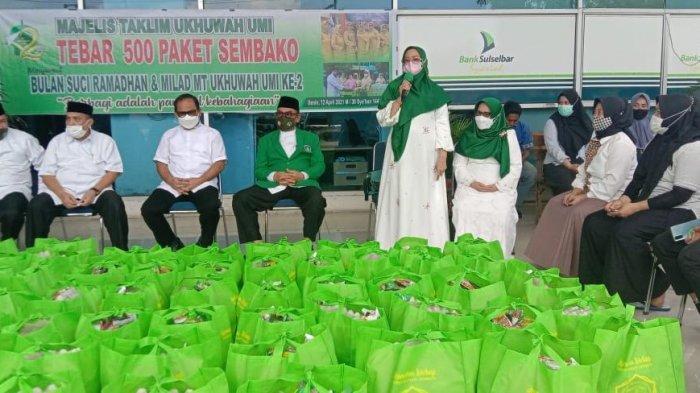 Milad Majelis Taklim Ukhuwah UMI, Tebar Kebaikan di Bulan Ramadan dengan Berbagi