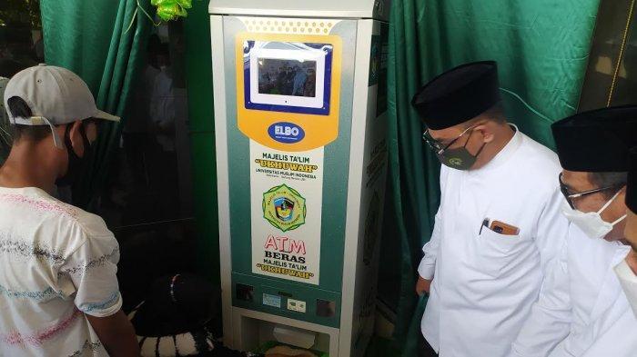 MT Ukhwa UMI Launching ATM Beras, Sudah Ada 208 Nasabah Terdaftar