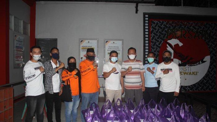 Keluarga Besar Makassar Racing Bagi-bagi Takjil di Lapas & Panti, Kamal Losari: Bahagia Bersama