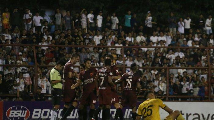 M Rahmat Hatrick, PSM Gasak Madura United 6-1
