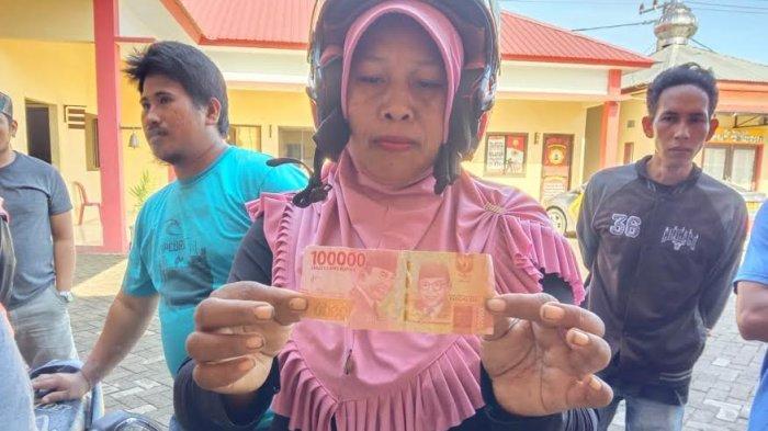Peredaran Uang Palsu di Gowa, Pelaku Bawa Rp 9,6 Juta
