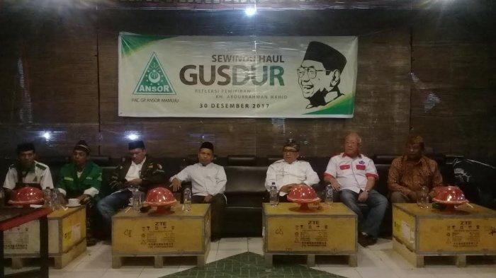 PAC GP Ansor Kecamatan Mamuju Peringati Sewindu Haul Gusdur