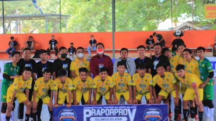 Kalahkan Wajo, Soppeng dan Enrekang, Tim Futsal Barru Lolos ke Porprov Sulsel