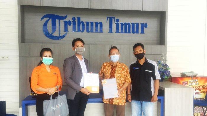Manajemen Hotel Harper Makassar Berkunjung ke Kantor Tribun Timur