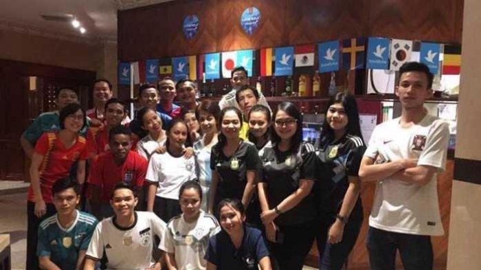 Final Perancis-Kroasia, 50 Fans Makassar Sudah Booking Bibir Kolam Myko Hotel