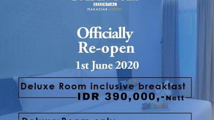 Hotel Golden Tulip Essential Makassar Buka Kembali, Ini Promonya