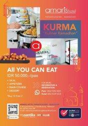 Kuliner Ramadan Amaris Panakkukang hanya Rp 50 Ribu All You Can Eat