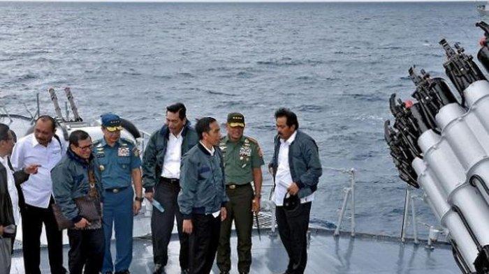 Mantan Anak Buahnya Berantem dengan Prabowo,Jokowi: Natuna Diklaim Saya Panas Saya Bawa Kapal Perang