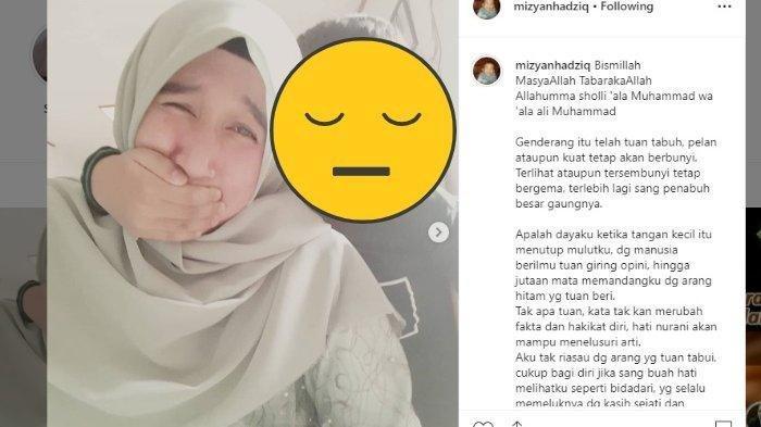 Mantan Istri UAS Curhat di IG, Difitnah? 'Jutaan Mata Memandangku dg Arang Hitam yg Tuan Beri'