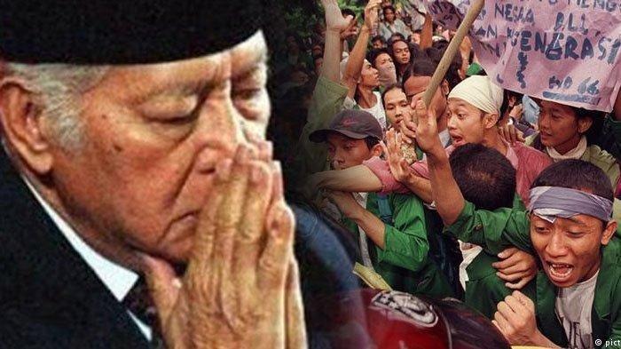25 Tahun Lalu, SoehartoMeramal NasibIndonesia2020 VideoMantanPresidenRI Viral, Terjadikah?