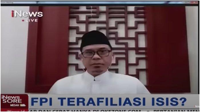 Munarman Eks Sekum FPI Tak Hanya Marah iNews, Pernah Siram Narasumber TV One, Jadi DPO, Kontroversi