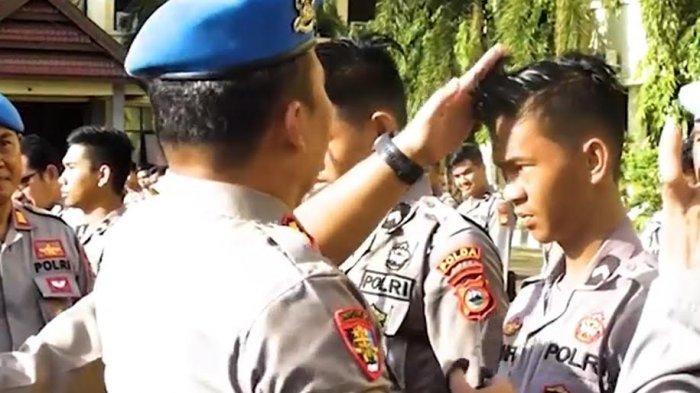 Hotman Sirait Operasi Rambut Anggota Polda Sulsel