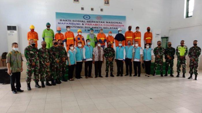 Mapanbumi dan Paramita Foundation Gelar Baksos Serentak Secara Nasional