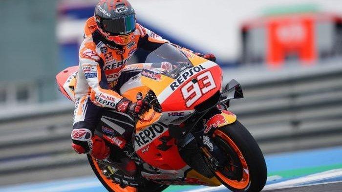 Hasil MotoGP Jerman 2021, Marc Marquez Akhirnya Naik Podium Lagi